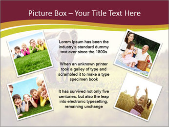 A cute girl in jockey boots PowerPoint Template - Slide 24