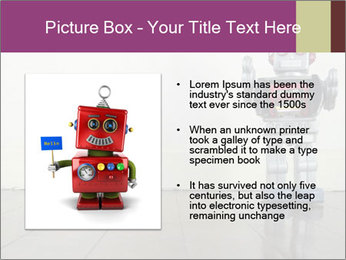 Retro robot PowerPoint Templates - Slide 13
