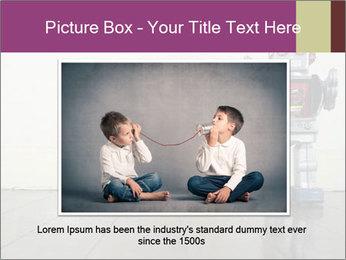 Retro robot PowerPoint Templates - Slide 15