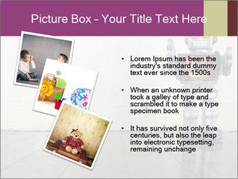 Retro robot PowerPoint Templates - Slide 17
