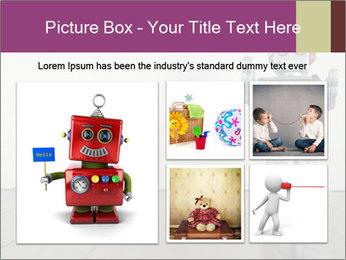 Retro robot PowerPoint Templates - Slide 19
