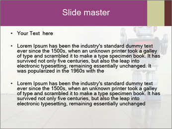 Retro robot PowerPoint Templates - Slide 2