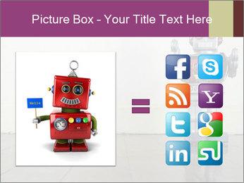 Retro robot PowerPoint Templates - Slide 21
