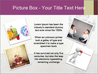 Retro robot PowerPoint Templates - Slide 24