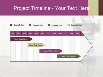 Retro robot PowerPoint Templates - Slide 25