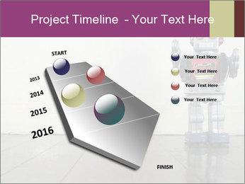 Retro robot PowerPoint Templates - Slide 26