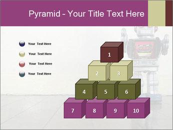 Retro robot PowerPoint Templates - Slide 31