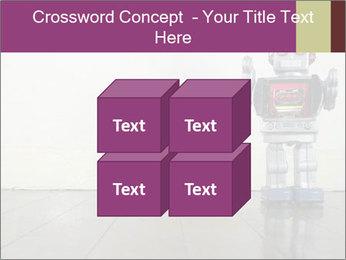 Retro robot PowerPoint Templates - Slide 39