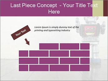 Retro robot PowerPoint Templates - Slide 46
