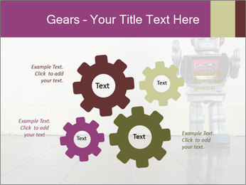 Retro robot PowerPoint Templates - Slide 47