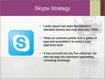 Retro robot PowerPoint Templates - Slide 8