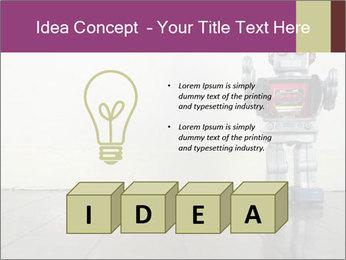Retro robot PowerPoint Templates - Slide 80