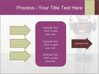 Retro robot PowerPoint Templates - Slide 85