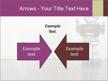 Retro robot PowerPoint Templates - Slide 90