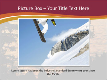 Ski lift chairs PowerPoint Templates - Slide 15