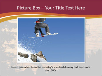 Ski lift chairs PowerPoint Templates - Slide 16
