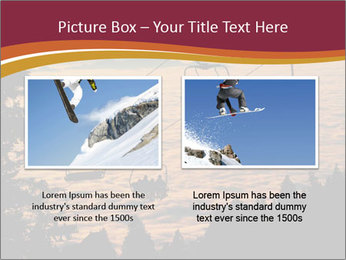 Ski lift chairs PowerPoint Templates - Slide 18