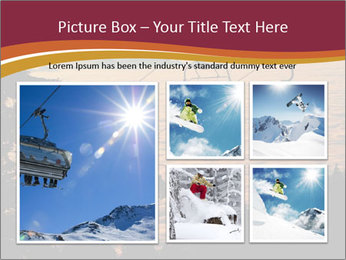 Ski lift chairs PowerPoint Templates - Slide 19