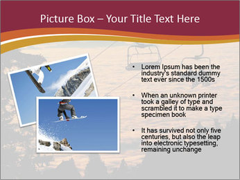 Ski lift chairs PowerPoint Templates - Slide 20