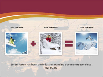 Ski lift chairs PowerPoint Templates - Slide 22