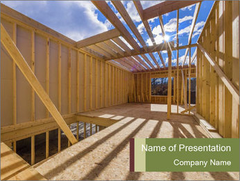 New construction PowerPoint Template - Slide 1