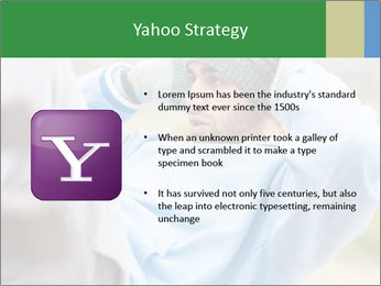The guy shakes Press PowerPoint Template - Slide 11