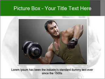 Strong young guy PowerPoint Template - Slide 16