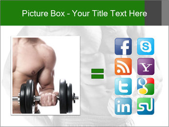 Strong young guy PowerPoint Template - Slide 21