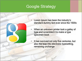 Newspapers PowerPoint Template - Slide 10