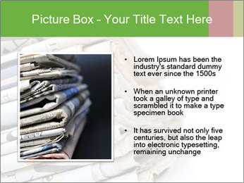 Newspapers PowerPoint Template - Slide 13