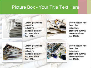 Newspapers PowerPoint Template - Slide 14