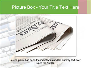 Newspapers PowerPoint Template - Slide 15
