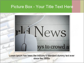 Newspapers PowerPoint Template - Slide 16