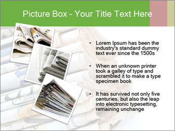 Newspapers PowerPoint Template - Slide 17