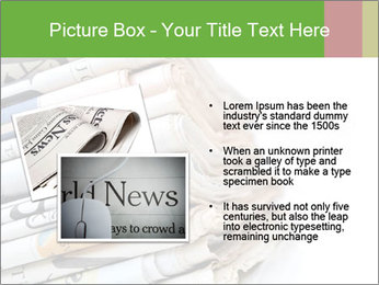 Newspapers PowerPoint Template - Slide 20