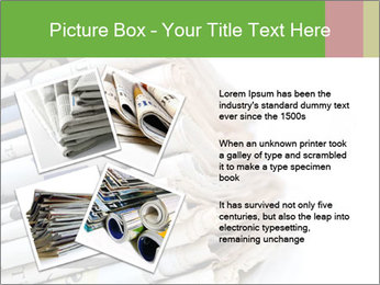 Newspapers PowerPoint Template - Slide 23