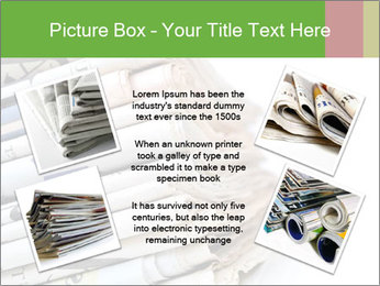 Newspapers PowerPoint Template - Slide 24