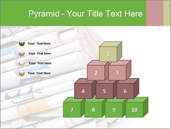 Newspapers PowerPoint Template - Slide 31