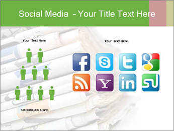 Newspapers PowerPoint Templates - Slide 5