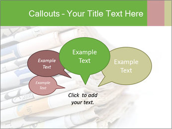 Newspapers PowerPoint Templates - Slide 73