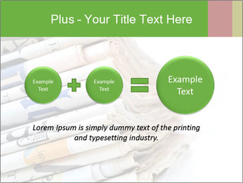 Newspapers PowerPoint Template - Slide 75
