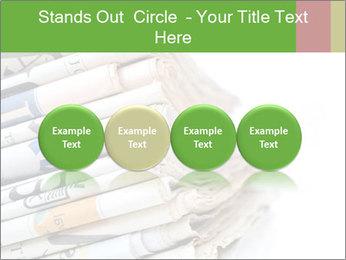 Newspapers PowerPoint Template - Slide 76