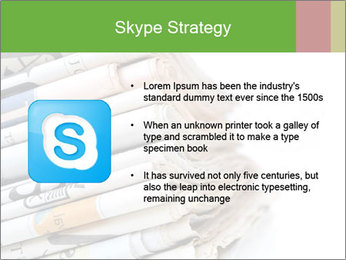 Newspapers PowerPoint Template - Slide 8