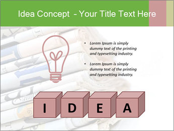 Newspapers PowerPoint Templates - Slide 80