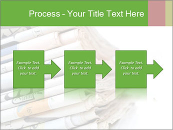 Newspapers PowerPoint Template - Slide 88