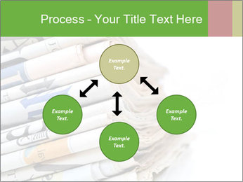 Newspapers PowerPoint Template - Slide 91