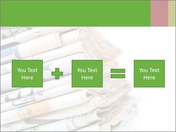 Newspapers PowerPoint Template - Slide 95