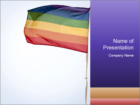Rainbow Flag PowerPoint Templates