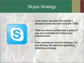 Chow market PowerPoint Template - Slide 8