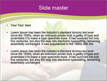 Palms PowerPoint Templates - Slide 2